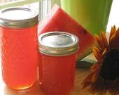 12 Oz Jar Of Organic Pink Watermelon Jelly NC Grown