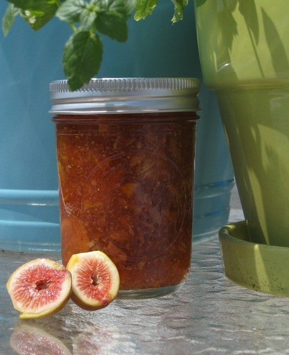 Organic Southern Fig Jam 8oz Jar
