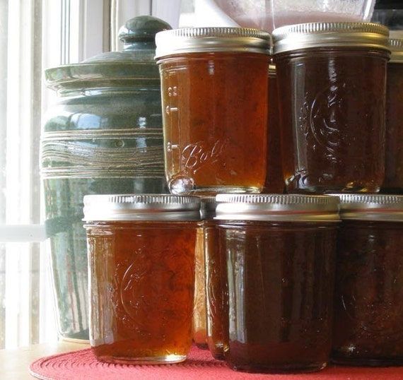 Hot Pepper Jelly Organic Jam 8 oz
