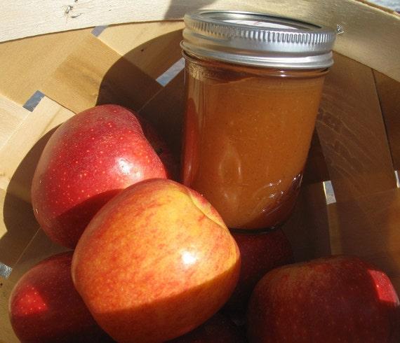 Apple Butter Jam Jelly 16 Oz Jar ORGANIC