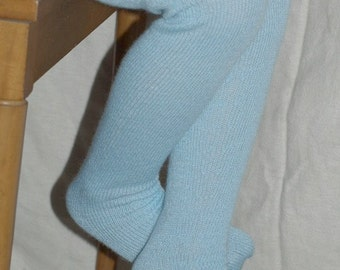 Tights Pattern for Double Bed Knitting Machines
