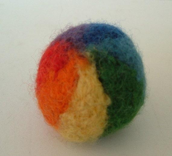 Pirple Beach Ball Key Ring