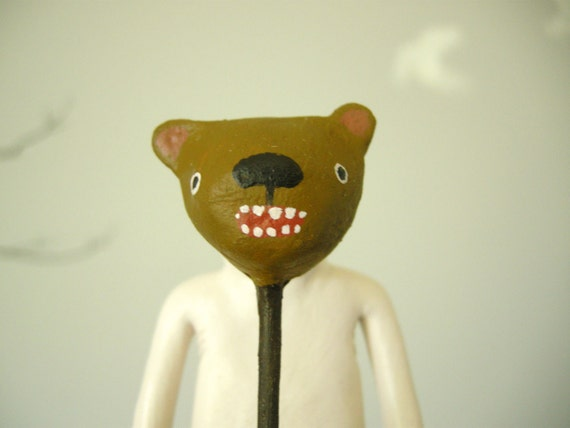 Mook with Bear Mask