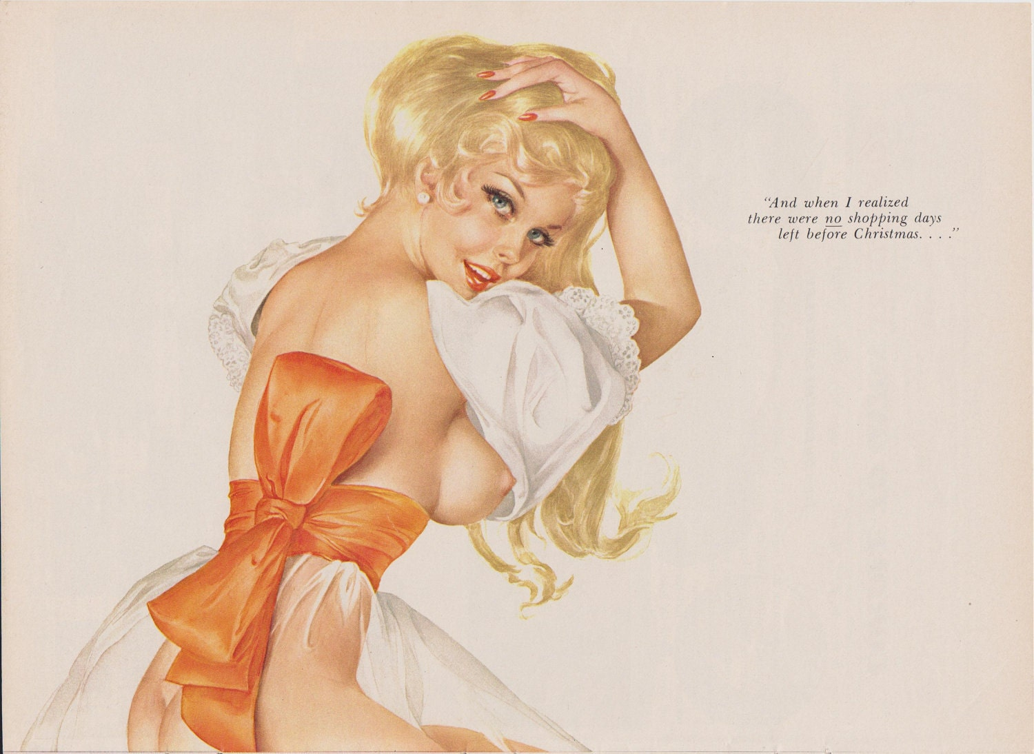 Vintage Nude Pin Up 118