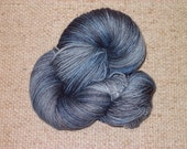 Molly, Steel Blue sock yarn