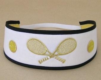 Tennis Headband, Fabric Headband, Headband, Tennis