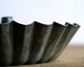 Vintage Tin Fluted Mold
