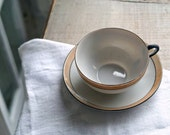 Vintage Set of Luster Tea Cups and Saucers