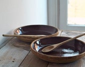 Vintage Bowl Collection- Pie Plates, Rustic Bowls