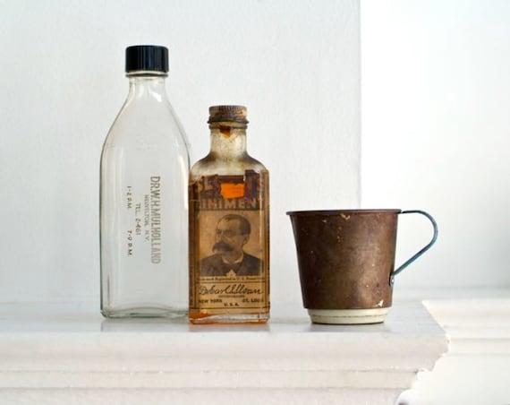 antique doctors elixir bottles