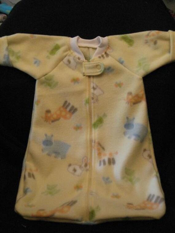 Fleece Baby Sack Size Newborn