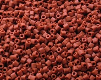 1.5mm cube TOHO - #46LF- Terra Cotta Seed Beads -20gr -  beads-sb14*