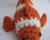 PATTERN Amigurumi Clownfish PATTERN - PDF