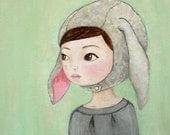 Goat Girl 8 x 10 print