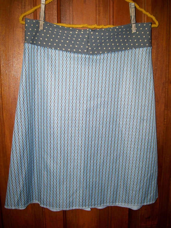 Frances Skirt-Vintage Stretch Fabric  -  Size Small