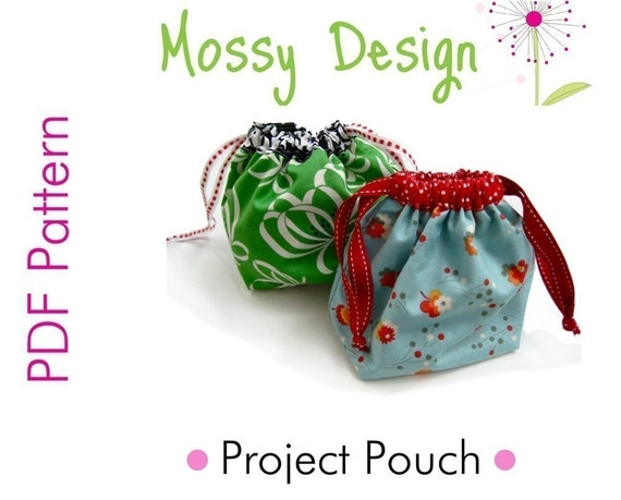 Easy Project Pouch Sewing Pattern