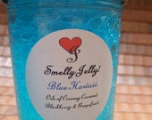 BLUE HAWAII Smelly Jelly 8 oz Air Freshner Scented with Blackberry Grapefruit and Creamy Coconut