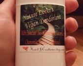 NATURE LOVERS DEODORANT All Essential Oils Vegan