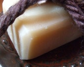 BURGANDY RED Soap Dish with FREE Bay Rum Key Lime Soap Bar