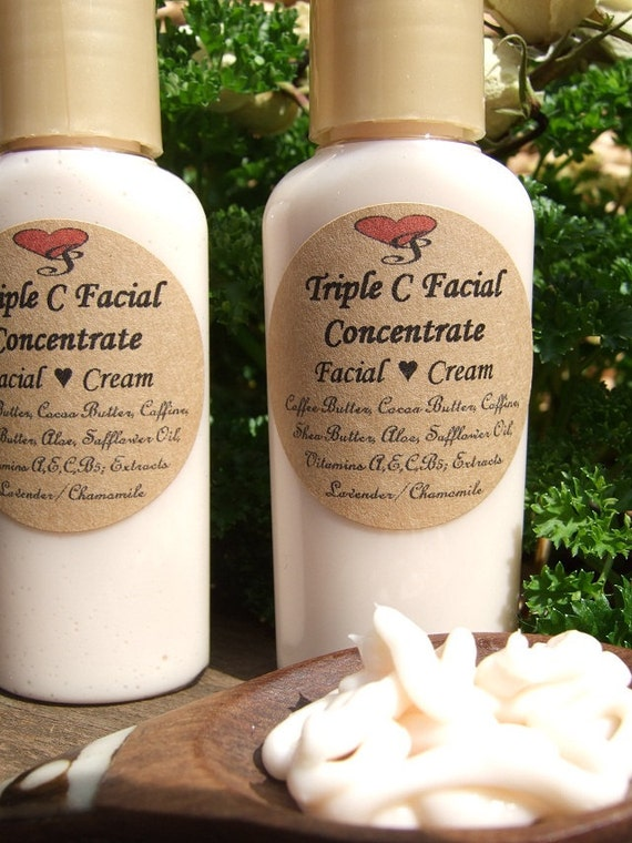 TRIPLE C FACIAL Concentrate Cream Lotion