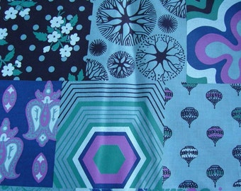 FQ - Hand Screen Printed Fabric - PERFECT PATCHWORK