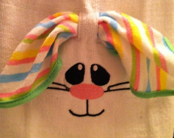 Easter Bunny Guest Towel