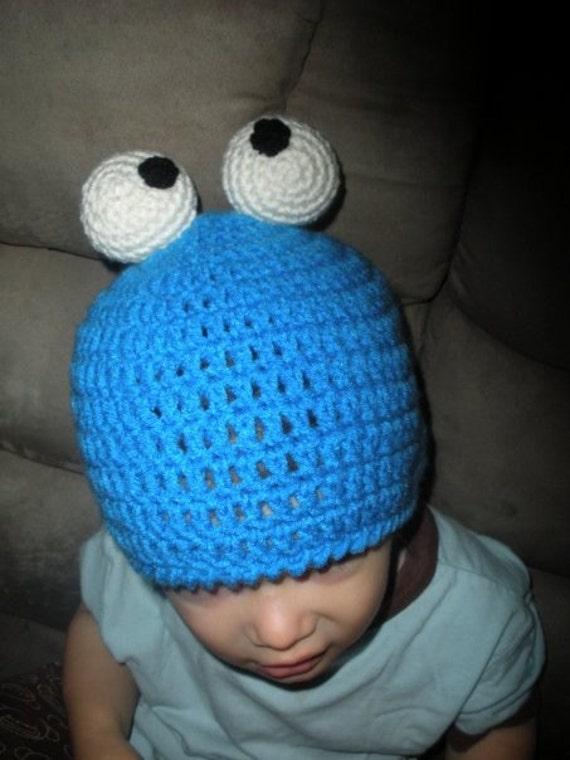 Free Crochet Pattern For Elmo Beanie : Elmo and Cookie Monster Crochet Beanie Patterns 2 patterns