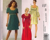 McCalls 5517 - Multisized 6-14 - OOP Innocent Romance Sewing Pattern