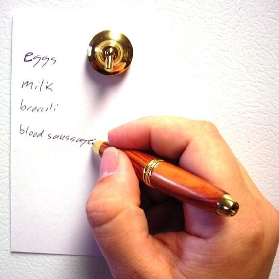 Tulipwood Refrigerator Pen Magnet