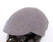 Easy Cycling Cap (XXL) made from Recycled Houndstooth Tweed Knit