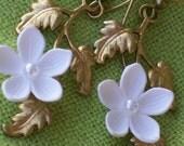 Flower Branch Earrings