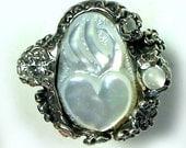 Sacred Heart  Wedding ring R028