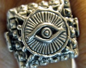 Eye of God  Ring two Lucky Owls R076