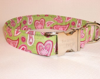 Be My Valentine Dog Collar by Swanky Pet
