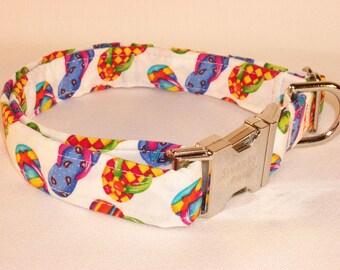 Flip Flops Summer Print Dog Collar by Swanky Pet