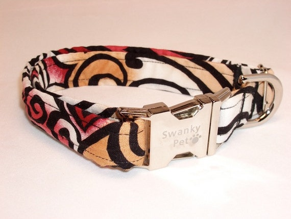 Tattoo You - Rock N Roll Dog Collar by Swanky Pet