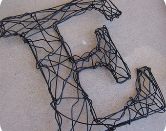 """16"""" Wire Monogram-letter of your choice"""
