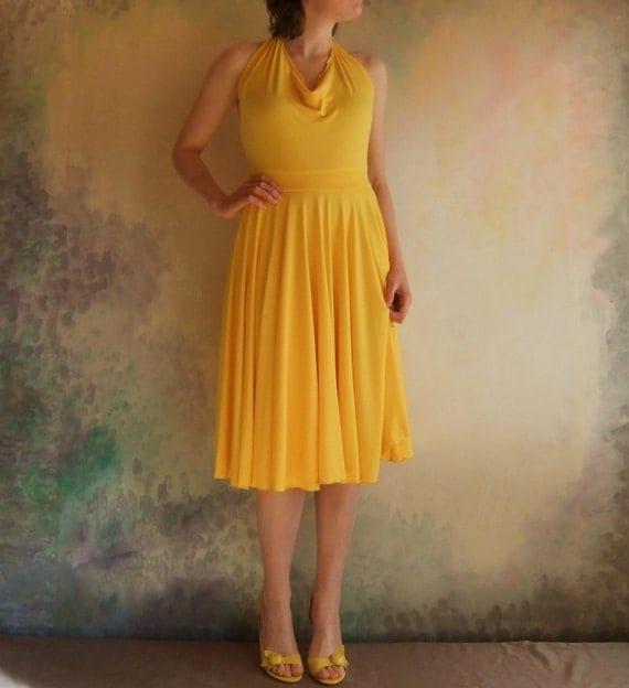 Daffodil Dress - Bamboo - Sample Sale