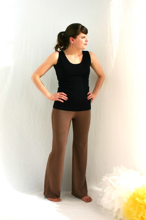 Serious Pant in Bamboo, Small - Sample Sale
