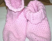 Pink Slippers-reserved listing for OrganicsMama