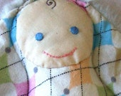 Deluxe Lovey Doll (Argyle\/Furry) - SALE
