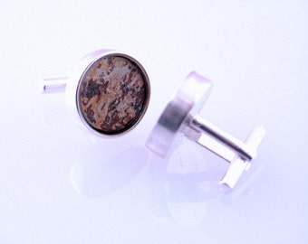 Rusted Slate Cufflinks