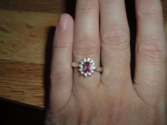 Raspberry Rhodolite Garnet Raspberry pink rhodolite