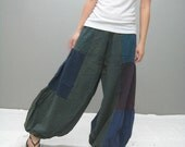 Aladdin patchwork pant