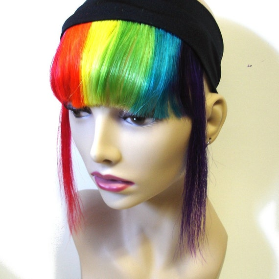 Striped clip on bangs opinion you