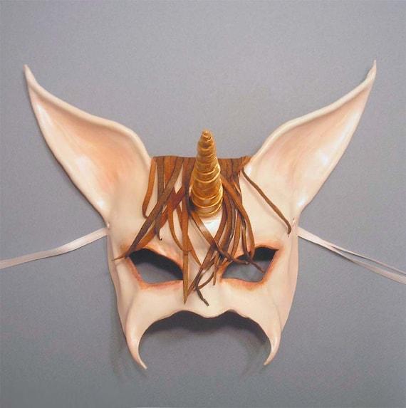 Unicorn Leather Mask