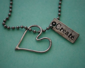 Create Love with Wire Heart