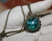 Witch Amulet Necklace. Gothic Jewelry. Wiccan Diva.