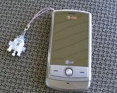 R2D2 Cell Phone Charm
