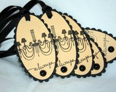 Handmade Chic and Elegant Chandelier Tags